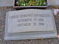 Birdie <i>Edmondson</i> Nations