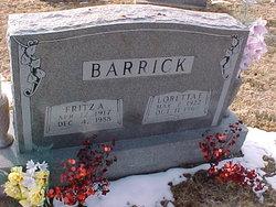 Fritz A. Barrick