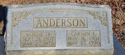 Mossie B. Anderson