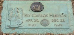 Edward Carlos Ed Hudson