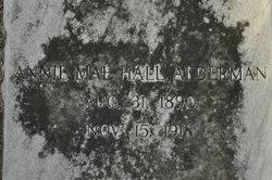 Annie Mae <i>Hall</i> Alderman