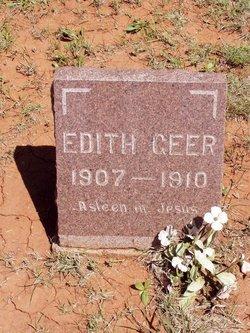 Edith Charlotte Geer