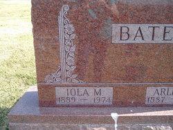 Iola Mae <i>Creason</i> Bates