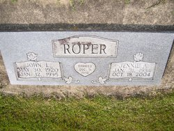 Jennie Alice <i>Arrowood</i> Roper