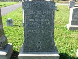 Anna H. <i>Deisher</i> Kohler