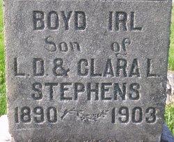 Boyd Irl Stephens