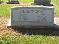 Edwin Jackson Cunningham, Sr