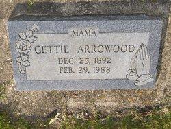 Gettie <i>Dixon</i> Arrowood