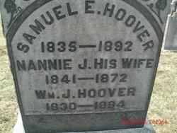Nannie J Hoover
