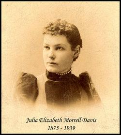 Julia Elizabeth <i>Morrell</i> Davis