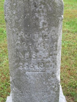 Sarah A. Sally <i>Neff</i> Hosler