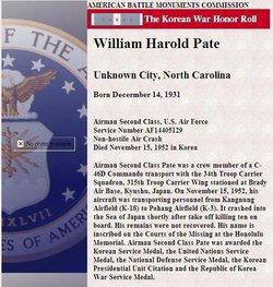 William Harold Pate