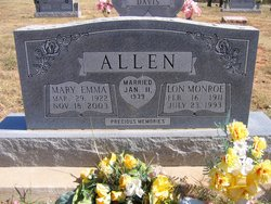 Mary Emma <i>Lantz</i> Allen