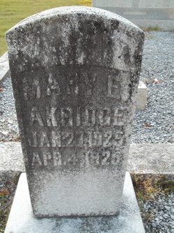 Mary E. Akridge