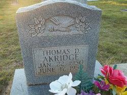 Thomas Douglas Akridge
