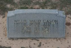 Willie Maude <i>Nance</i> Cason