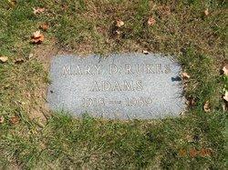 Mary Della Rukes <i>Hayne</i> Adams