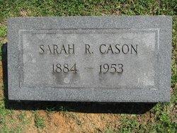 Sarah <i>Reynolds</i> Cason