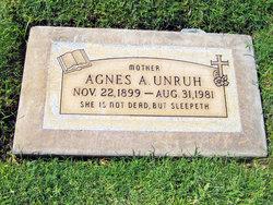 Agatha A. Agnes <i>Duerksen</i> Unruh
