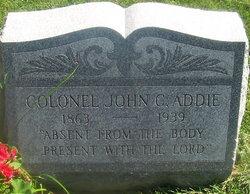 Col John Cragen Allen Addie