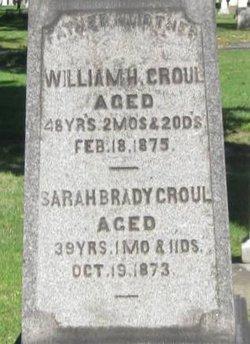Sarah <i>Brady</i> Croul