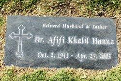Dr Afifi Khalil Hanna