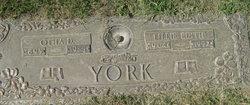 Lillie Edith <i>Davis</i> York