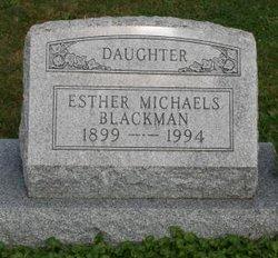Esther <i>Michaels</i> Blackman