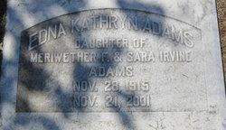 Edna Kathryn Adams