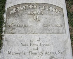 Meriwether Flournoy Adams, Jr