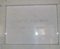 Ann C Ballman