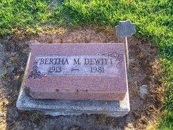 Bertha Melissa <i>Miller</i> Dewitt