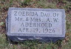 Zoebida Aderhold