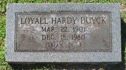 Loyall Hardy Duyck