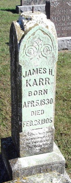 James H Karr