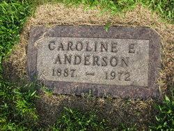 Caroline Elizabeth Betty <i>Anderson</i> Anderson