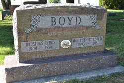 Dr Silas Leroy Boyd