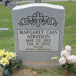 Margaret <i>Cain</i> Atkinson