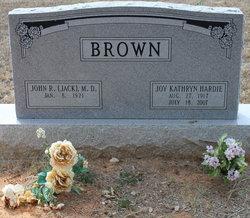 Joy Kathryn <i>Hardie</i> Brown