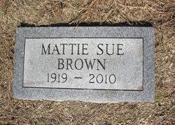 Mattie Sue Brown