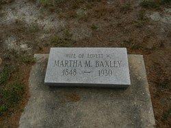 Martha <i>Moore</i> Baxley