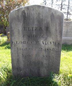 Eliza Ilsley <i>Adams</i> Adams