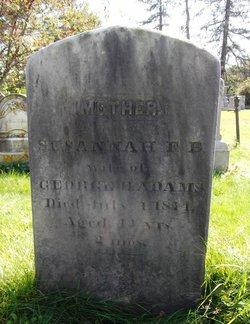 Susannah F. B. <i>Folsom</i> Adams