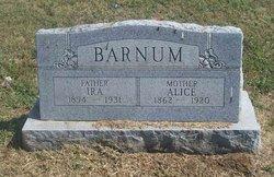 Alice <i>Spears</i> Barnum