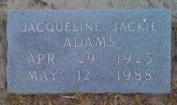 Jacqueline Jackie Adams