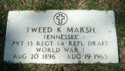 Tweed K Marsh