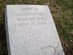 Annie M. Barrickman