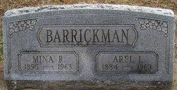 Mina R. <i>Stone</i> Barrickman