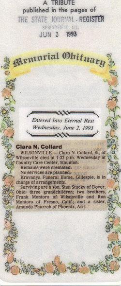 Clara <i>Mayden</i> Collard