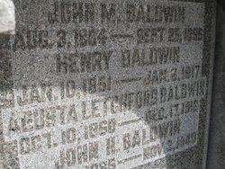 Augusta S <i>Letchford</i> Baldwin